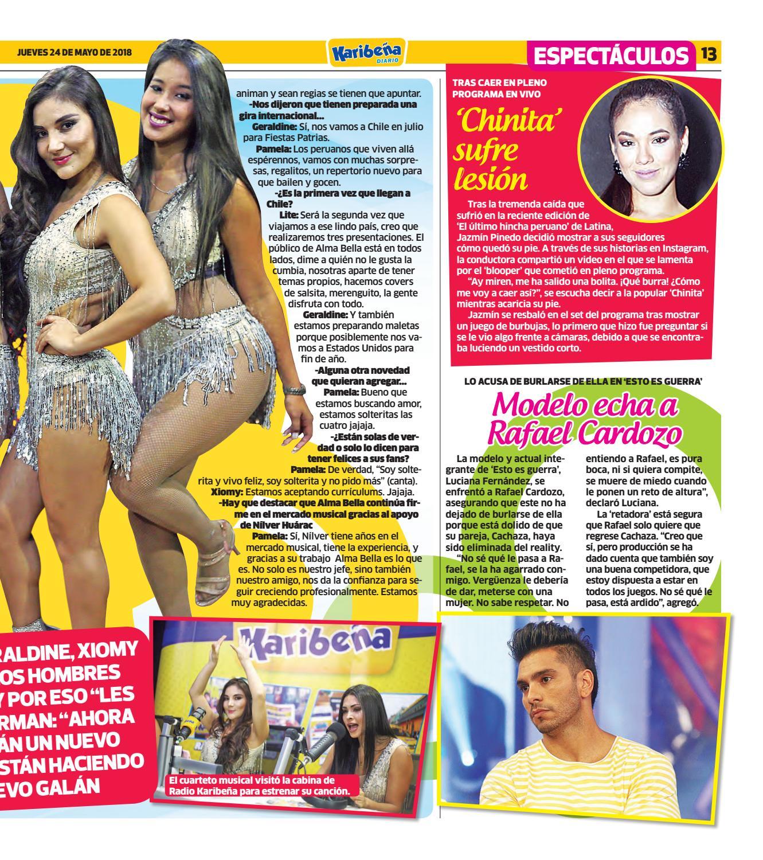 1deda40266 Diario Karibeña by Corporación Universal - Ediciones digitales - issuu