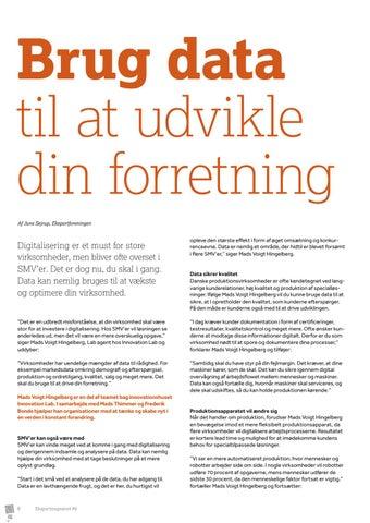 Page 8 of Innovation Lab: Brug data til at udvikle din forretning