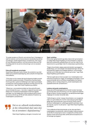 Page 9 of Innovation Lab: Brug data til at udvikle din forretning