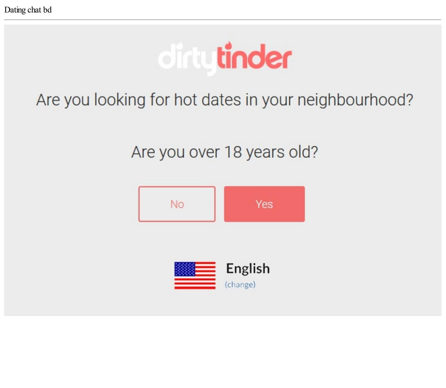 Bd dating chat