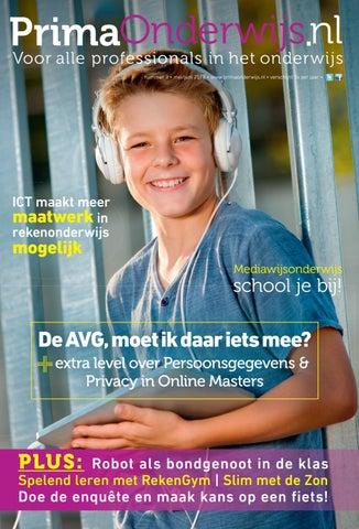 2ebe8d9f3c8248 nummer 3 • mei juni 2018 • www.primaonderwijs.nl • verschijnt 5x per jaar •