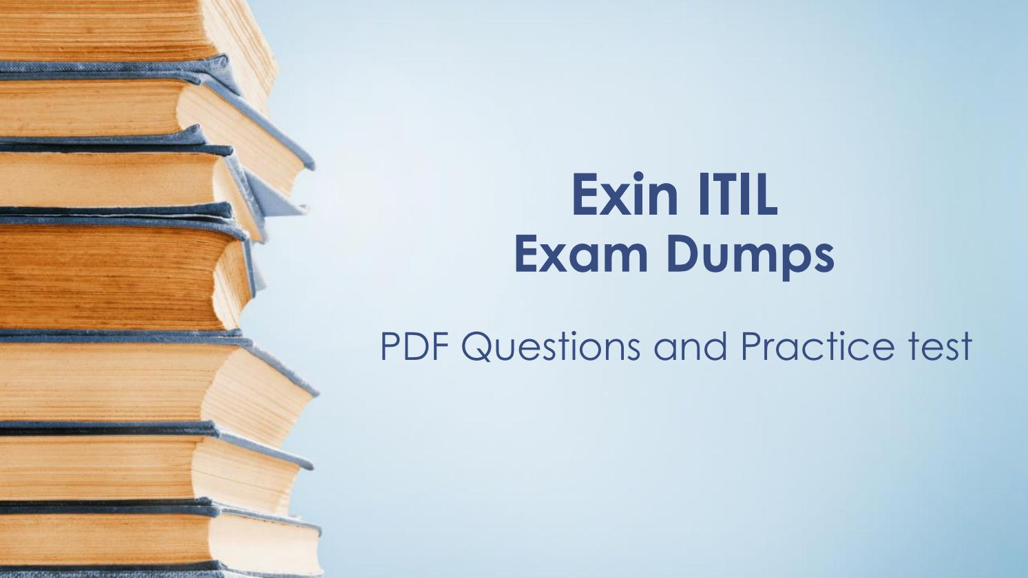 Itil Pdf Dumps Itil Questions By Amber Collee Issuu
