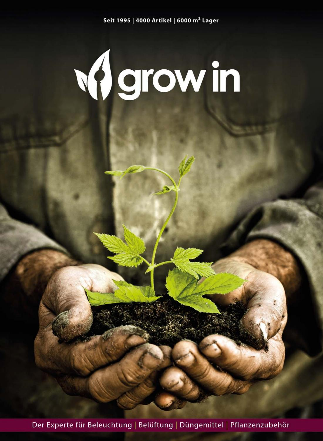 Grow In Katalog Deutsch By Grow In Ag Issuu