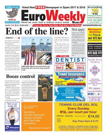 Euro Weekly News - Costa del Sol 24 - 30 May 2018 Issue 1716 by Euro ... b122a35b2