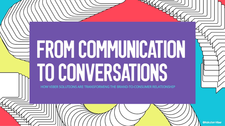 Viber р(еволюция) ерата на дигиталната комуникация by