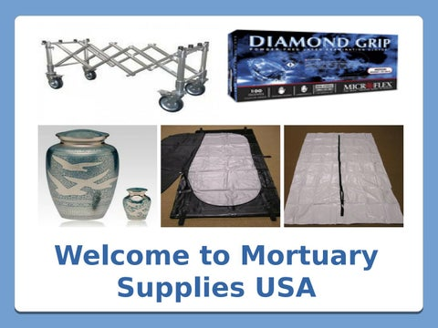 Shop Premium Quality Funeral Home Supplies at Best Prices