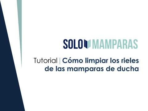 Cómo Limpiar Los Rieles De Las Mamparas De Ducha By Solomamparas Issuu
