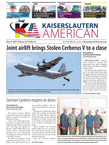 Kaiserslautern American, May 25, 2018 by AdvantiPro GmbH - issuu