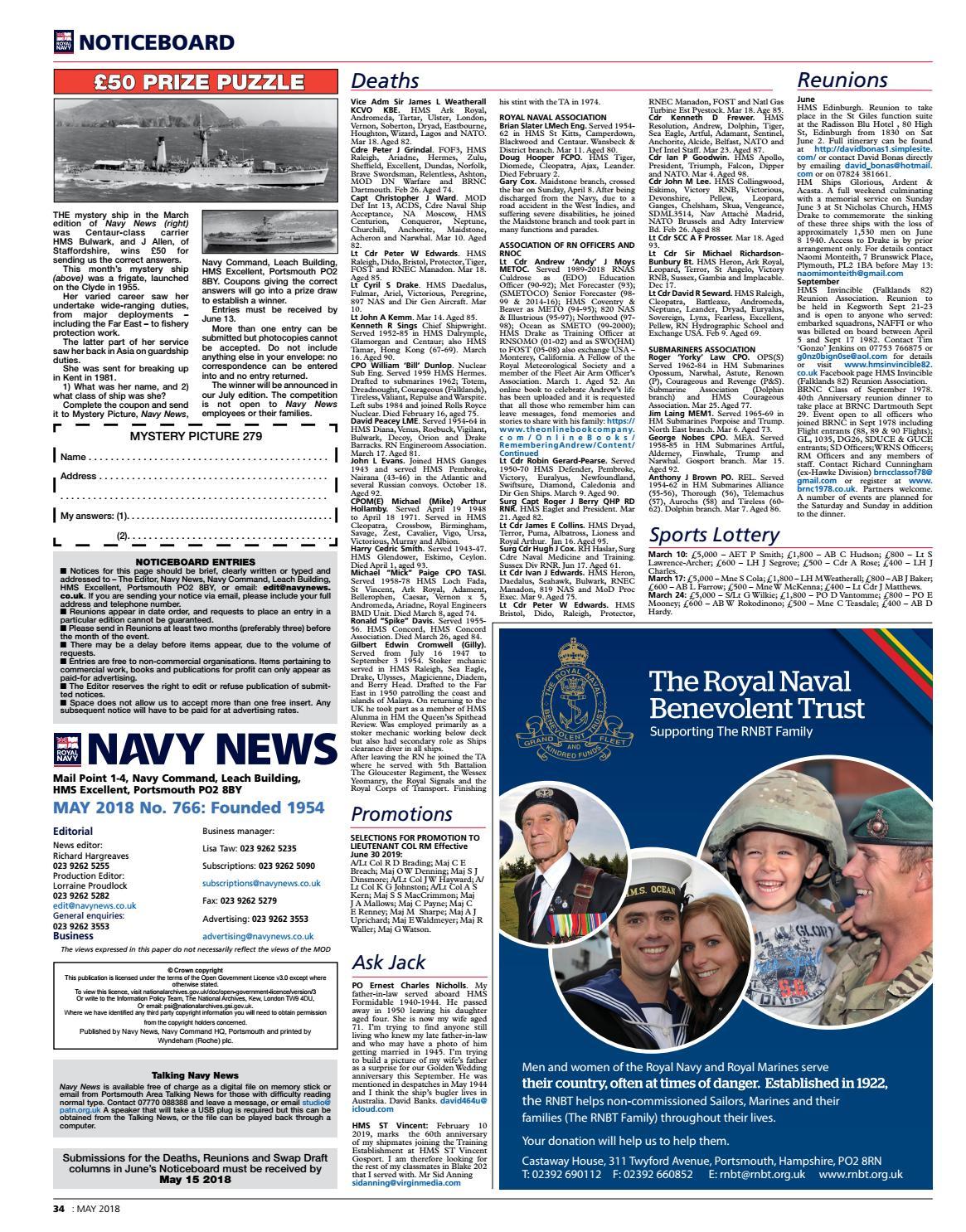 201805 by Navy News - issuu