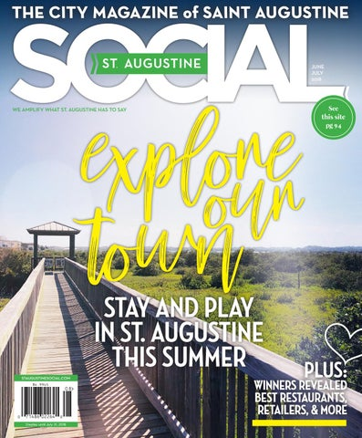 St  Augustine Social - Jun/Jul 2018