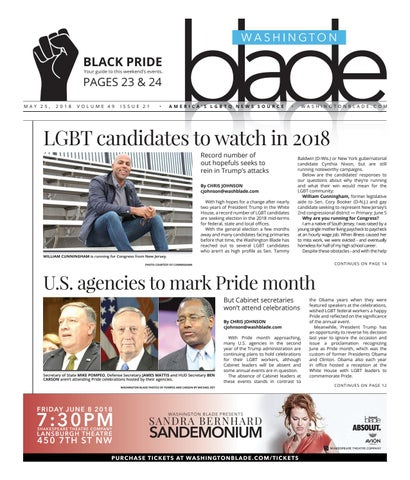 b08155728 Washingtonblade.com, Volume 49, Issue 21, May 25, 2018 by Washington ...