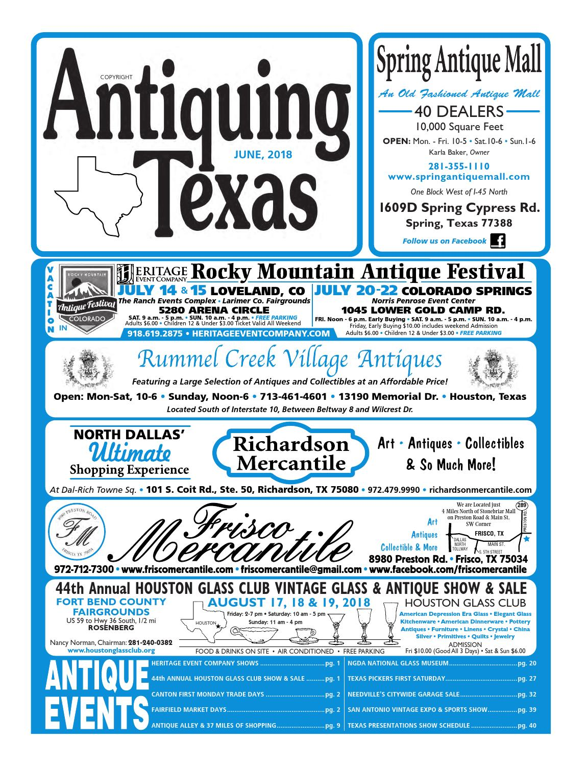 Ant tx upload 6 18 by Antiquing Texas - issuu