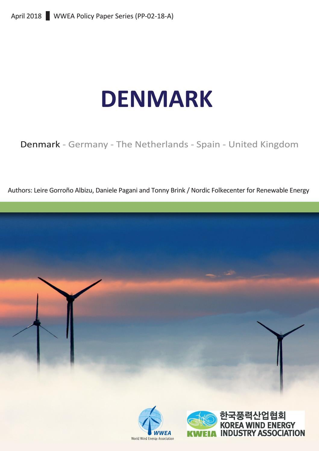 Identifying Success Factors For Wind Power Denmark By Jean