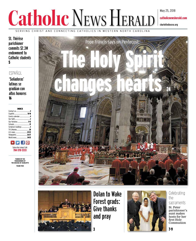 May 25, 2018 by Catholic News Herald - issuu