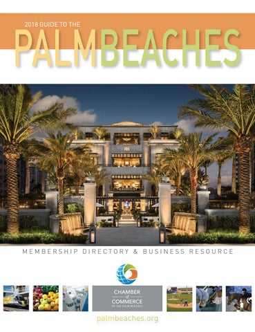d22c708cf32b WP 2018 cover Final.qxp Layout 1 1 11 18 9 41 AM Page 1. 2018 GUIDE TO THE PALM  BEACHES