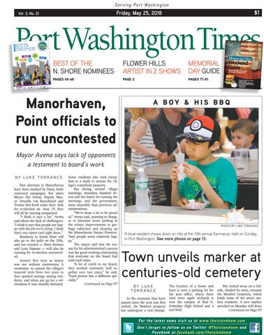 bda6e8c0f5 Port Washington Times 2018 05 25 by The Island Now - issuu