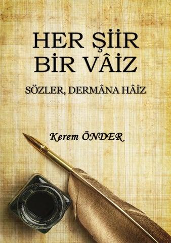 Her şiir Bir Vâiz Sözler Dermâna Hâiz By Akinci Issuu
