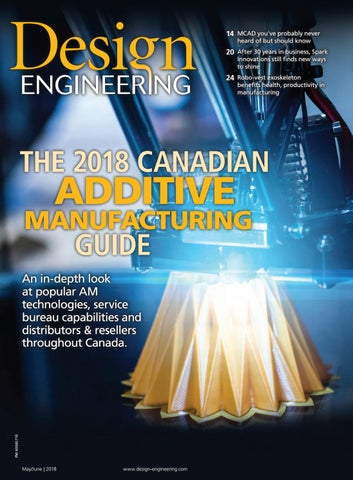 Design Engineering May/June 2018 by Annex Business Media - issuu