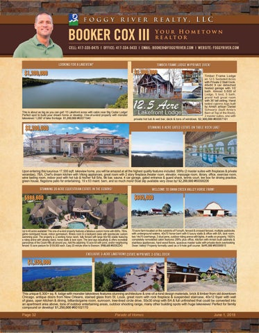 Page 34 of Foggy River Realty- Booker Cox III