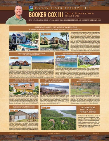 Page 35 of Foggy River Realty- Booker Cox III