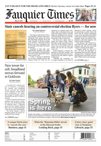 Fauquier Times May 23, 2018 by Fauquier Times - issuu
