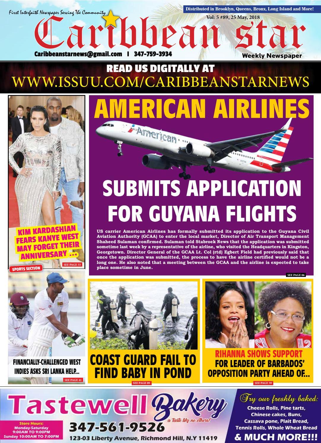Caribbean star 25 may 2018 epaper by Caribbean Star News - issuu