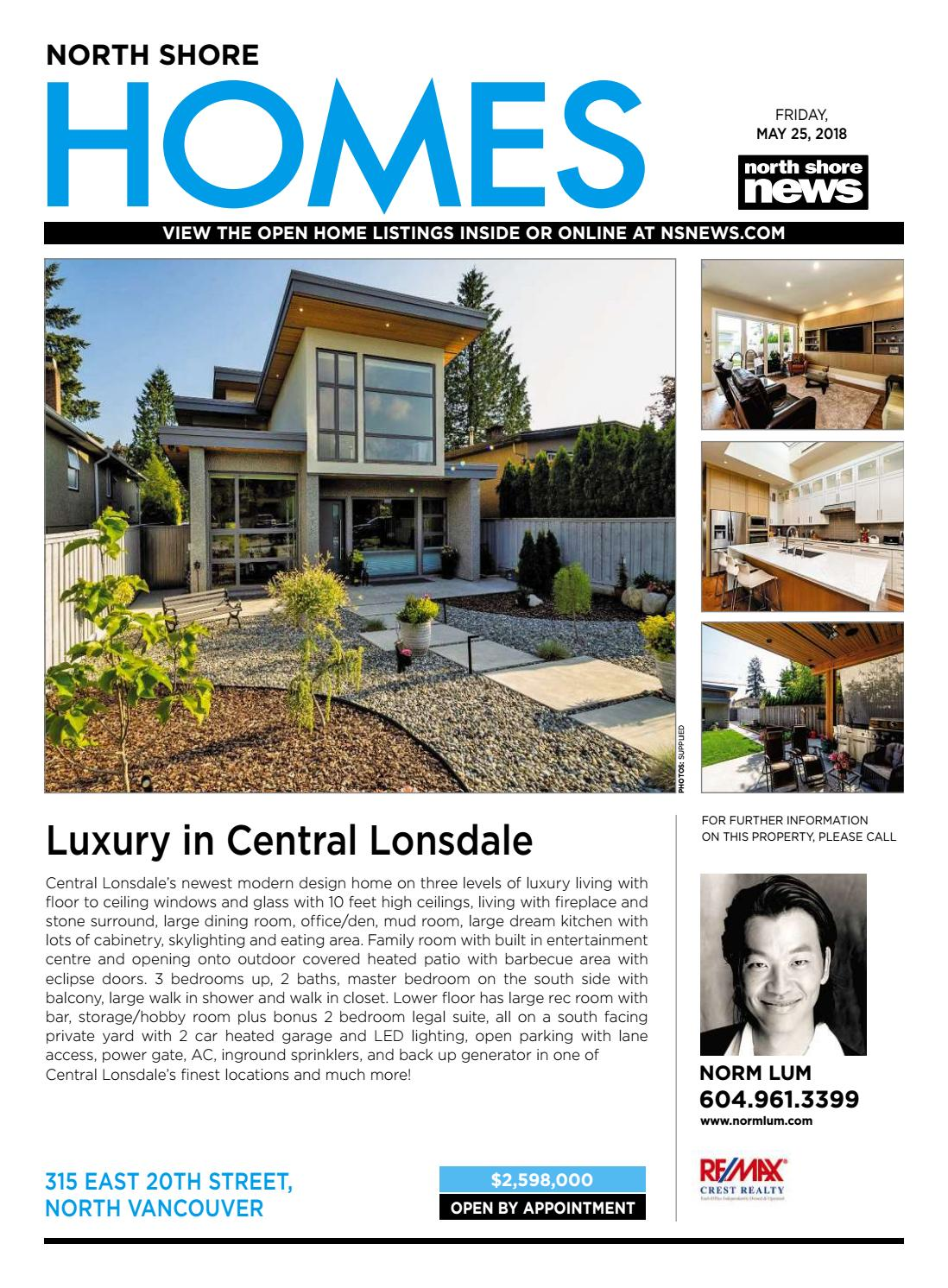 North Shore Homes Real Estate May 25 2018 by NSN Features - issuu