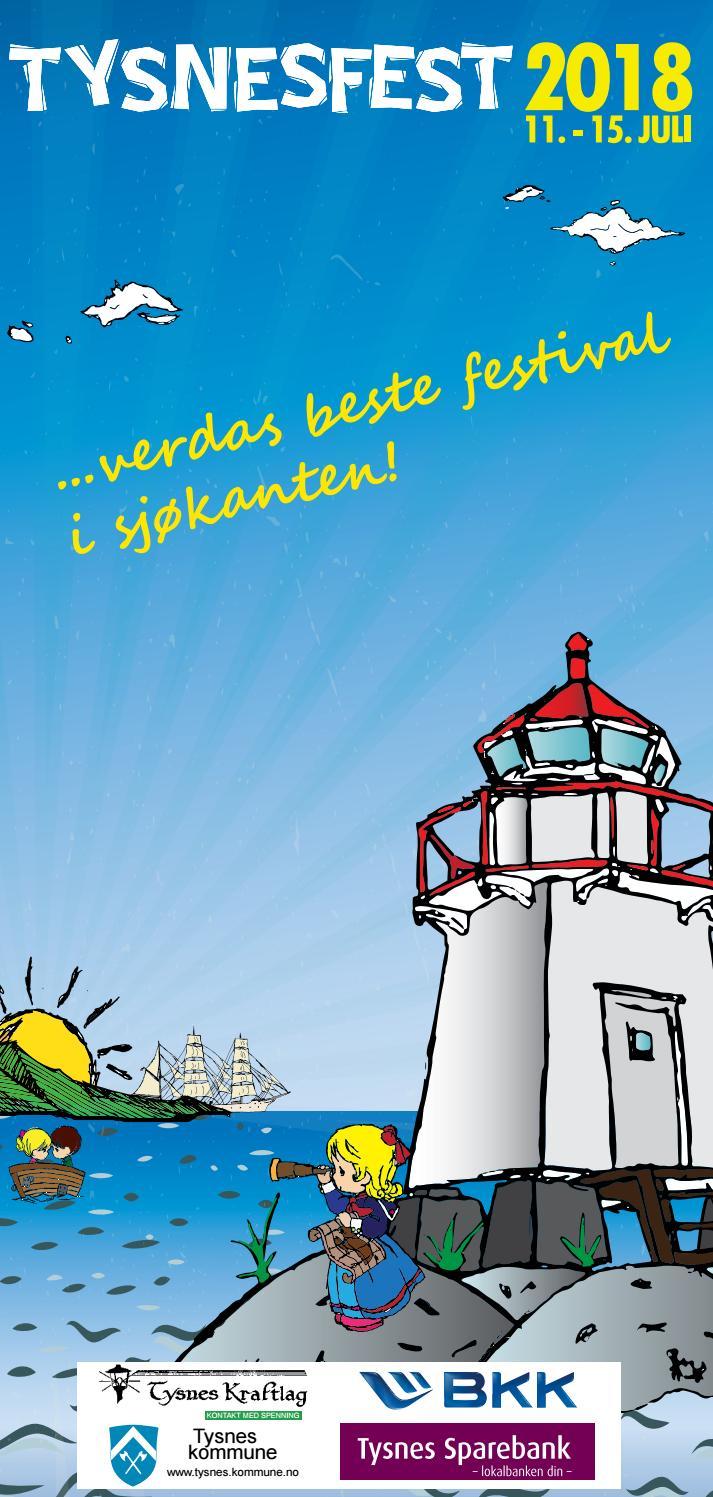 Programfalder 2018 by Stiftelsen Tysnesfest - issuu e3c742e1637a6