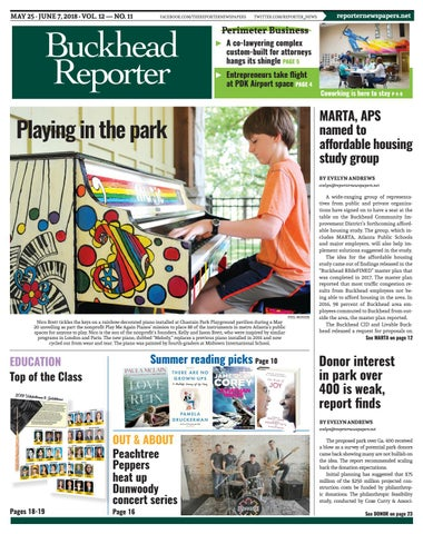 05-25-18 Buckhead Reporter by Reporter Newspapers - issuu