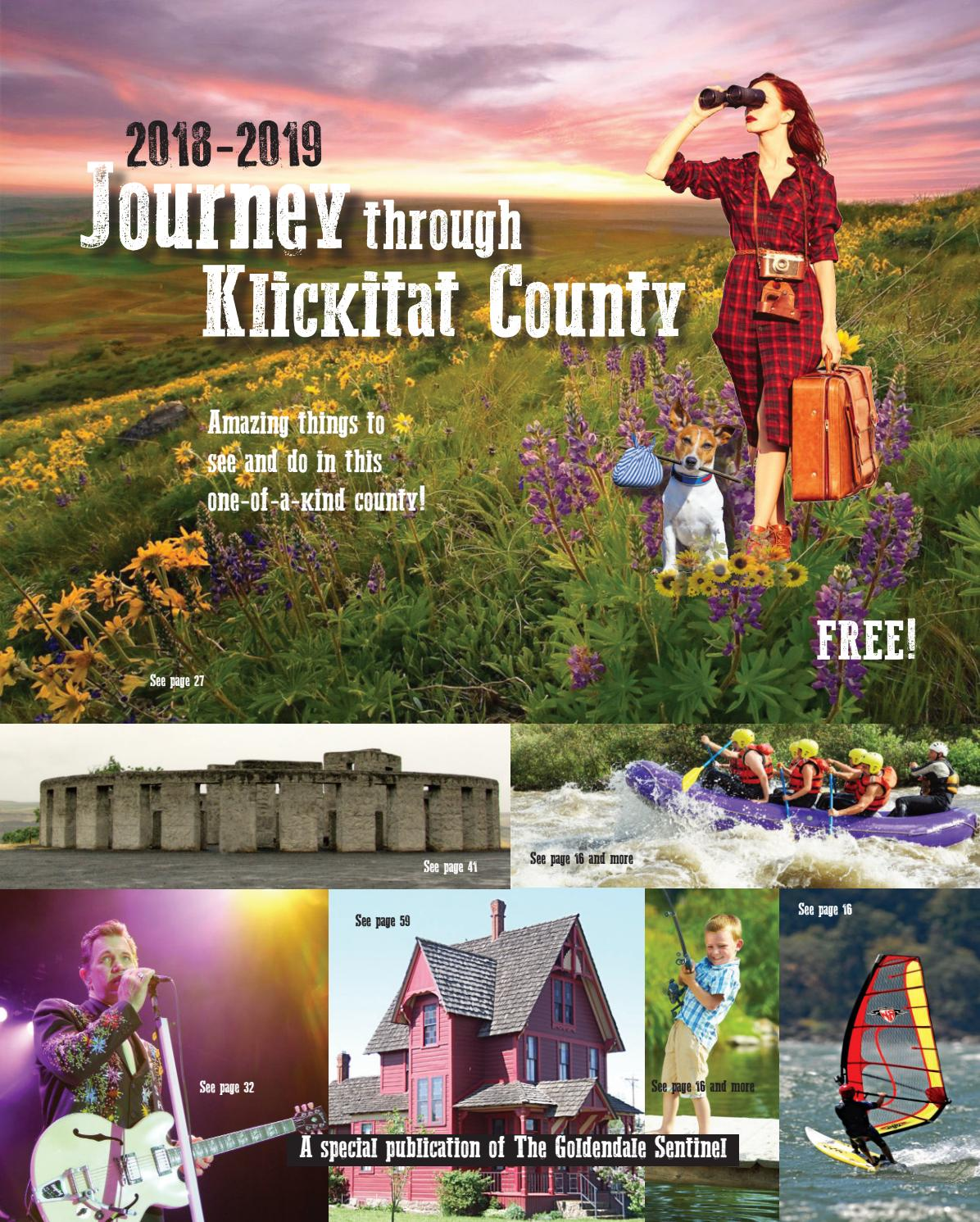 2018 2019 Journey Through Klickitat County by Goldendale
