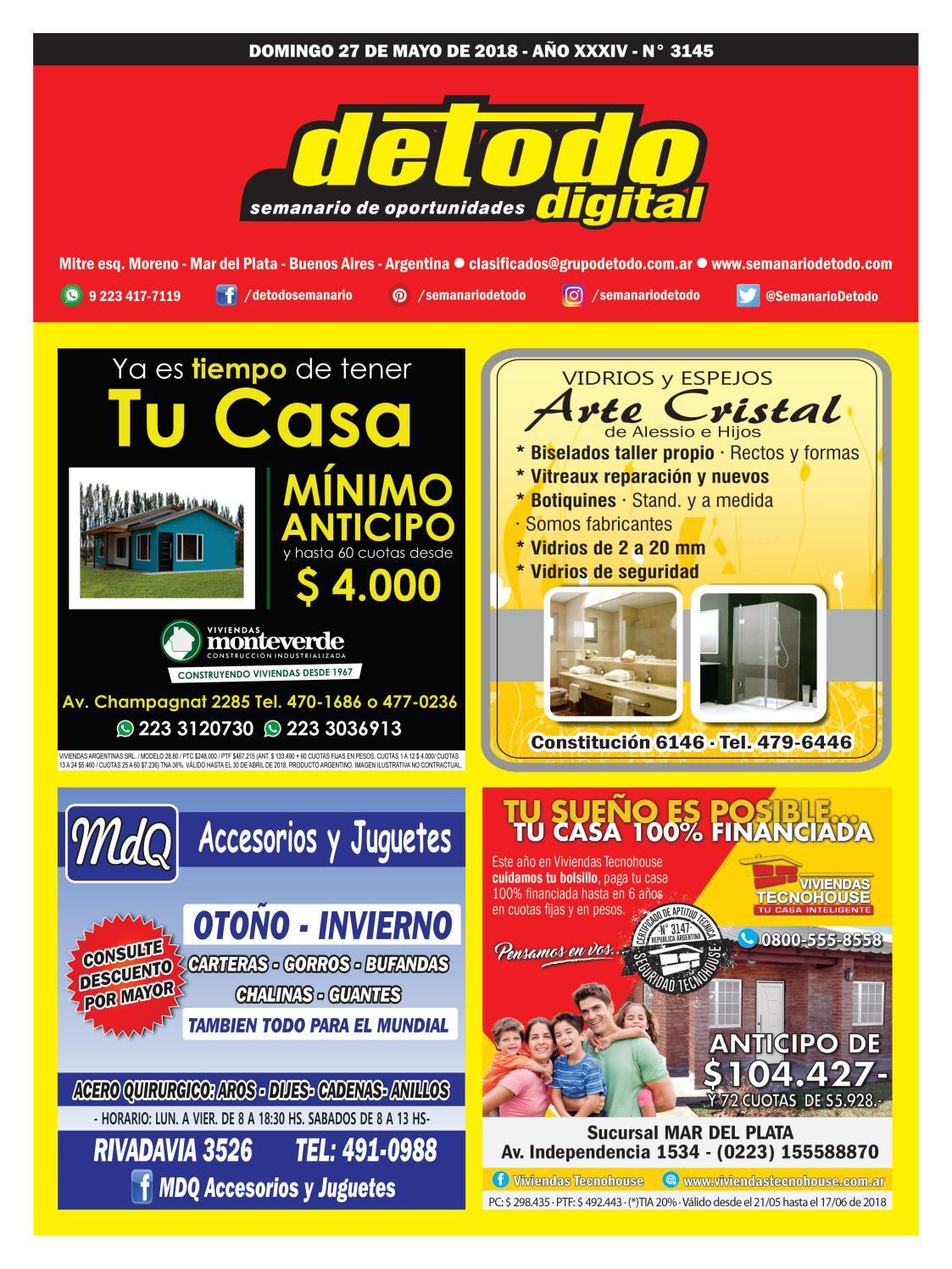 ae7fa28e89ca Semanario Detodo Digital - Edición N° 3145 - 27 05 2018 by Semanario Detodo  - issuu