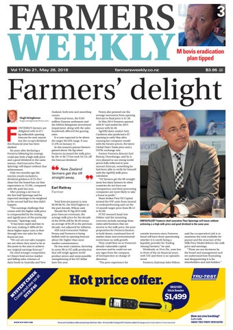 228472563 Farmers Weekly NZ May 28 2018 by Farmers Weekly NZ - issuu
