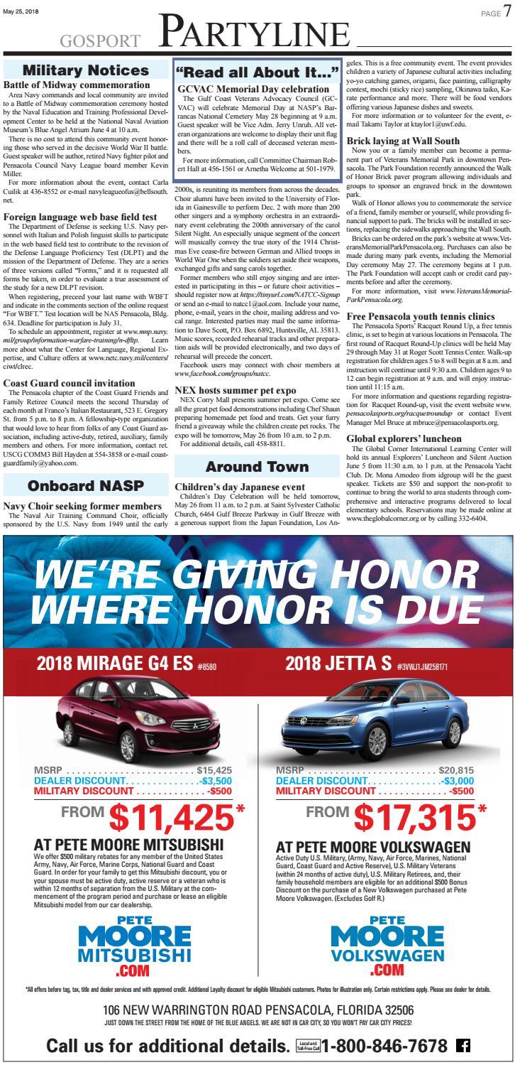 Gosport - May 25, 2018 by Ballinger Publishing - issuu