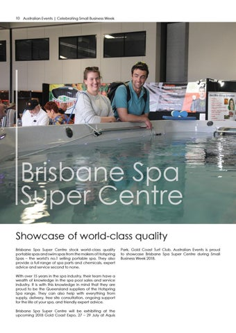 Page 10 of Showcase of world-class quailty