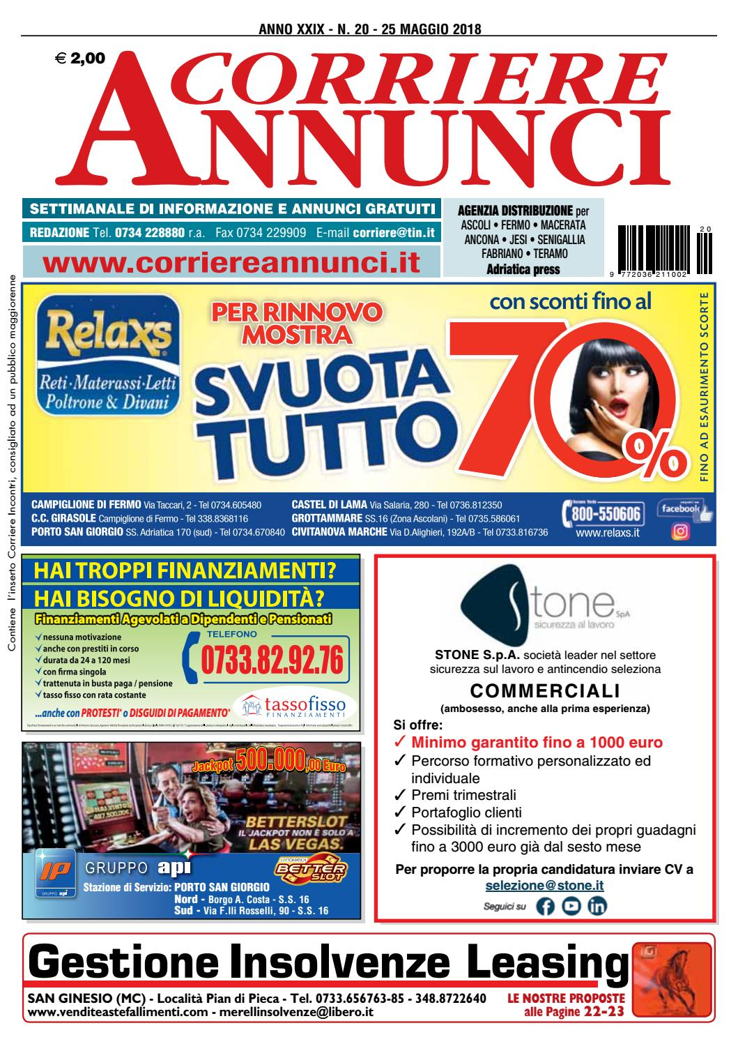 Corrier20 2018 by Corriere Annunci - issuu 331ec089d98f