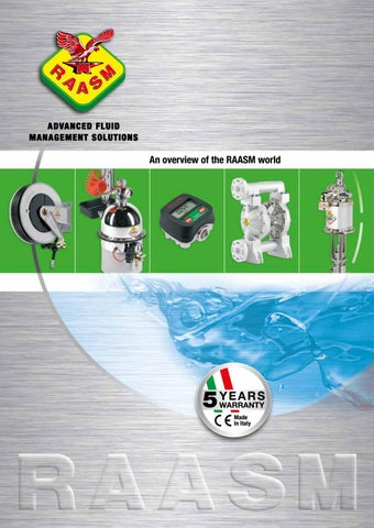 Overview of RAASM world by Raasm SpA - issuu