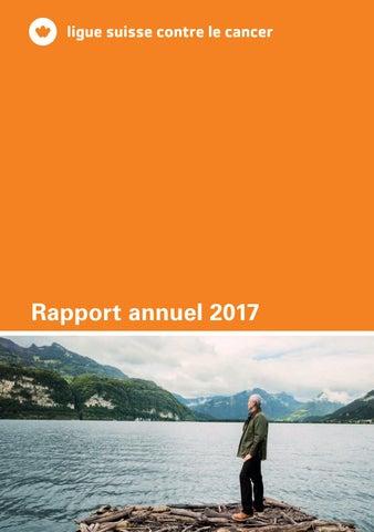 Comptes annuels 2017 de la Ligue suisse contre le cancer by
