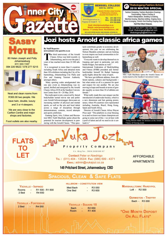 Inner City Gazette by Inner City Gazette - issuu