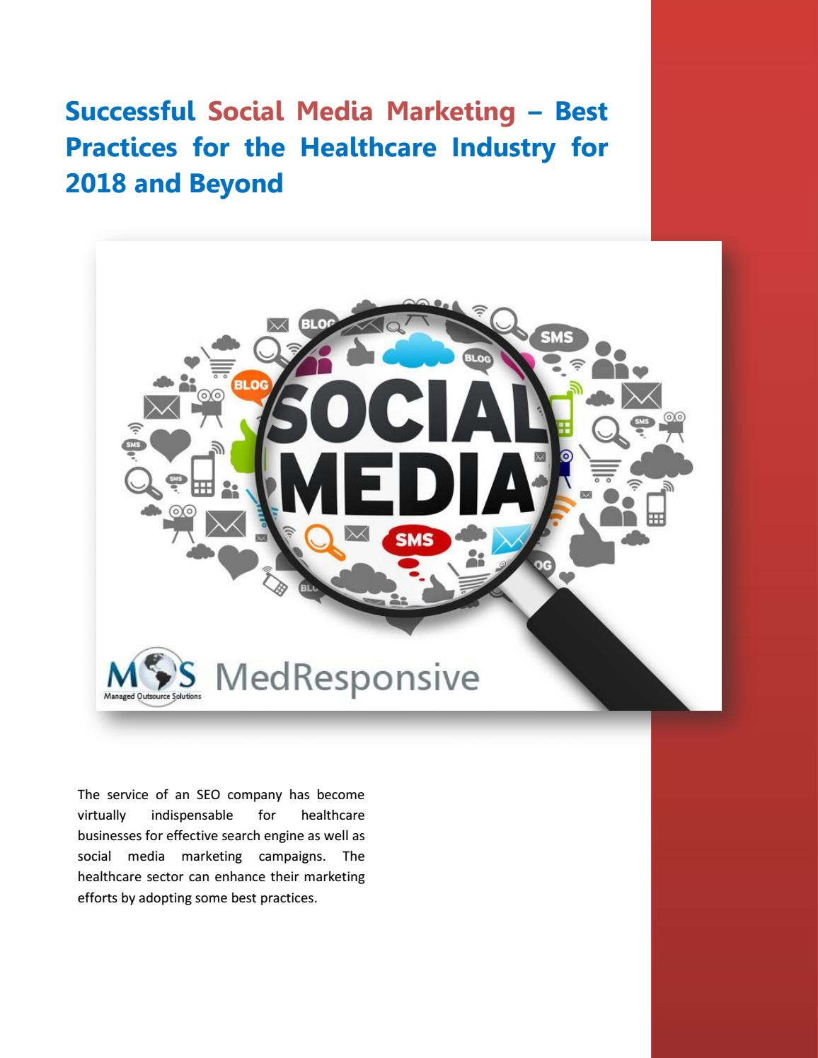 Successful Social Media Marketing – Best Practices for the
