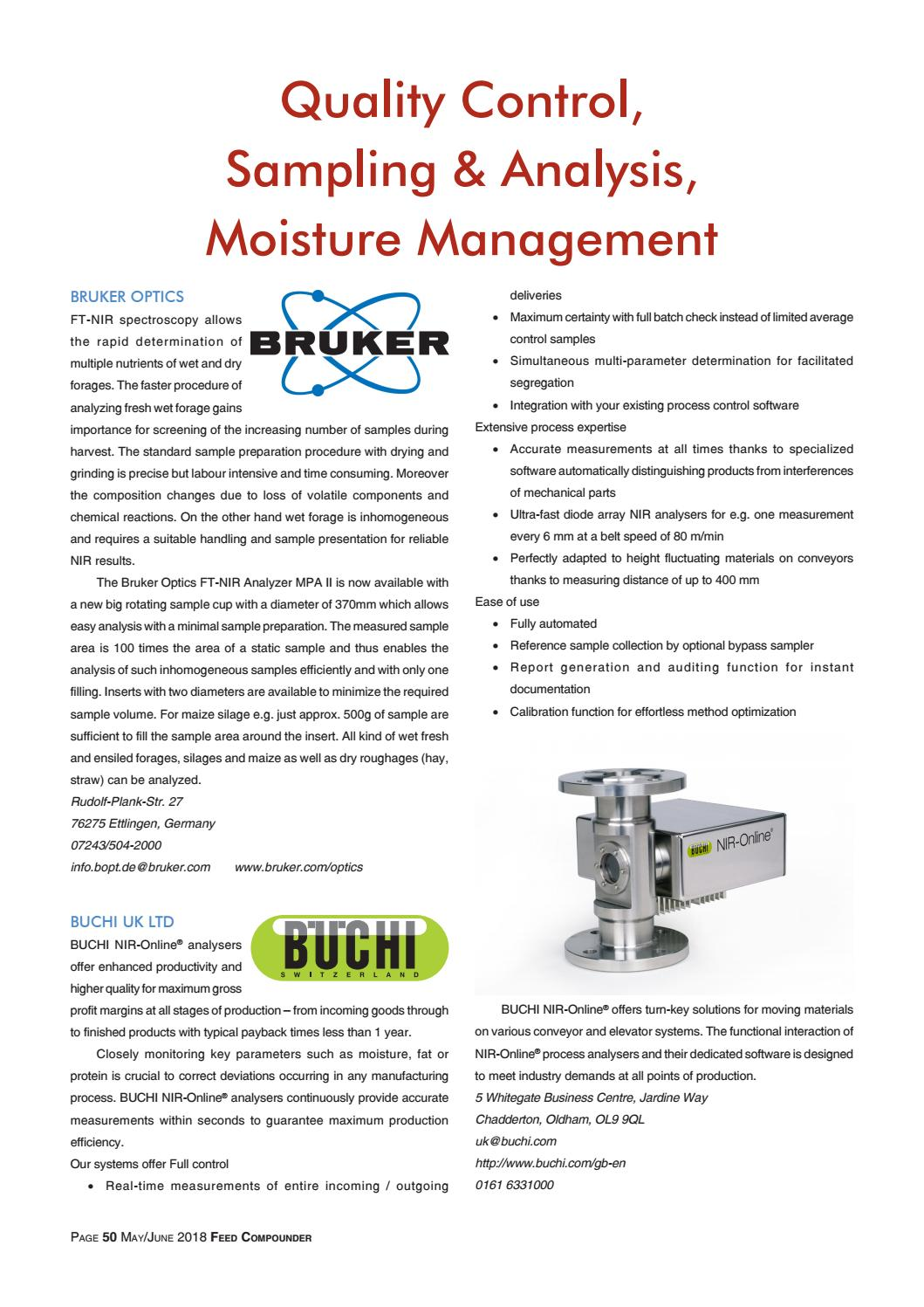 Moisture Management Of Parapet Walls: Quality Control, Sampling & Analysis, Moisture Management