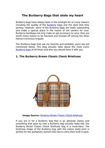 081ead8b017f The Burberry Bags that stole my heart Burberry bags have always been in the  limelight for so many reasons including the quality of the Burberry bags  and the ...