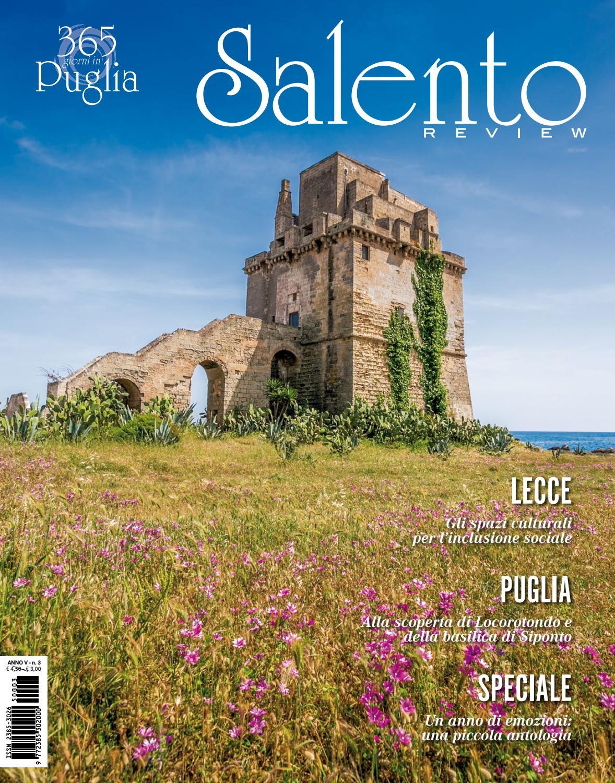 lowest price e7aaf 9a0b3 Salento Review - Anno V - Numero tre by Salento Review - issuu