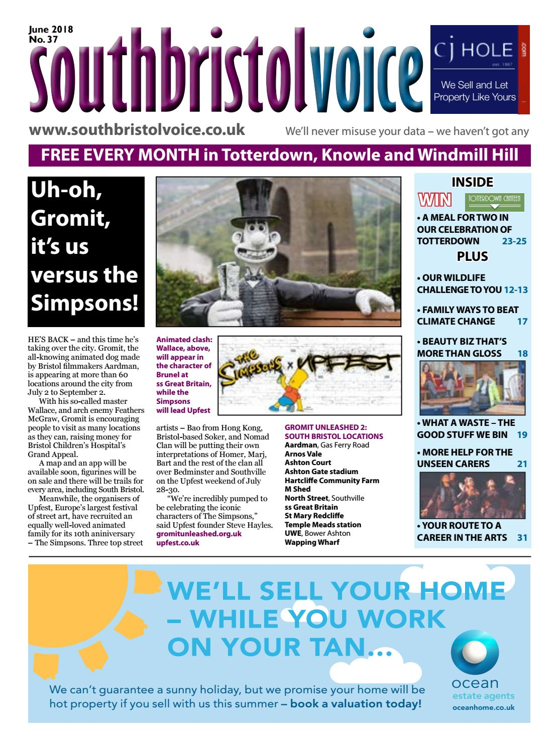South Bristol Voice June 2018 by South Bristol Voice - issuu