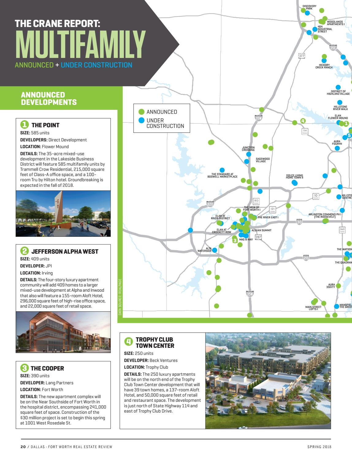 Dallas-Fort Worth Real Estate Review - Spring 2018 by Dallas