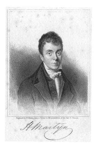 John Sargent [1780-1833], The Life and Letters of the Rev  Henry Martyn