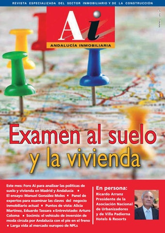 dbfcafd3a Revista 141 by Andalucía Inombiliaria - issuu