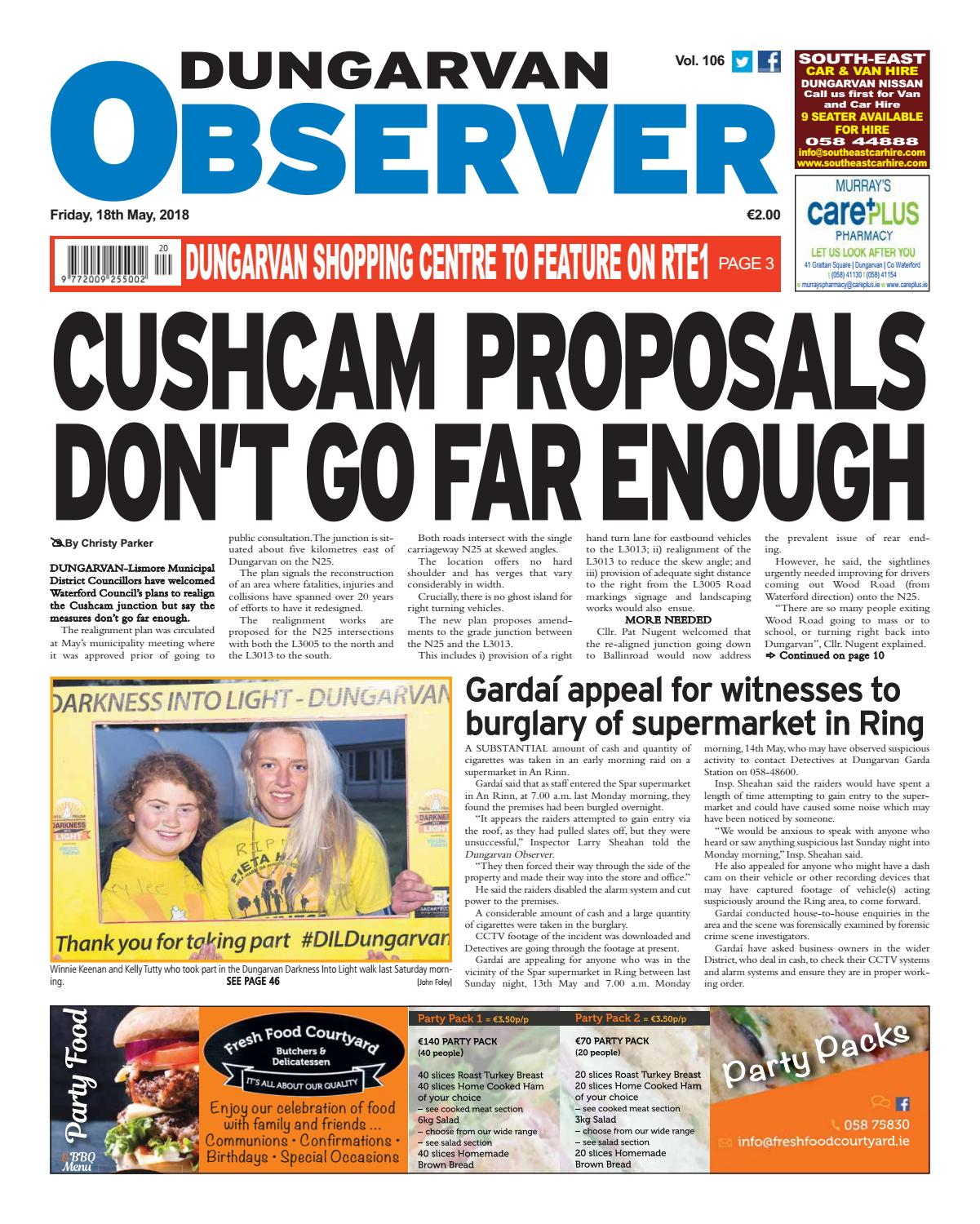 Dungarvan observer 18 5 2018 edition by Dungarvan Observer - issuu 887dd708c7ac9