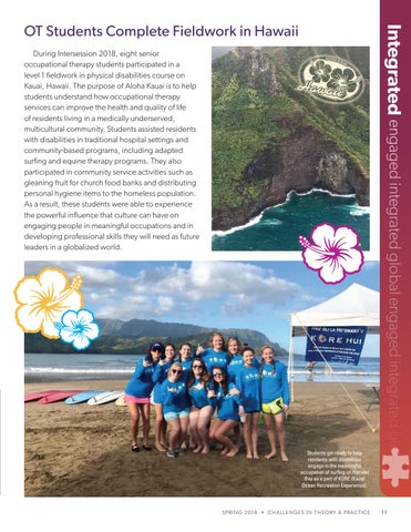 Page 11 of OT Students Complete Fieldwork in Hawaii