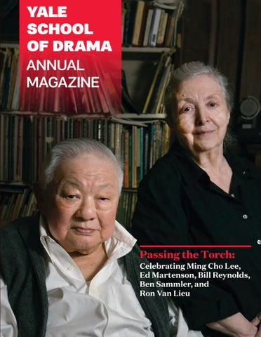 08b5d54eaf9f Yale School of Drama 2018 Alumni Magazine by Yale Repertory Theatre ...