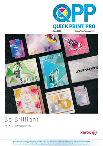 quick print pro june 2018 by the magazine production company issuu
